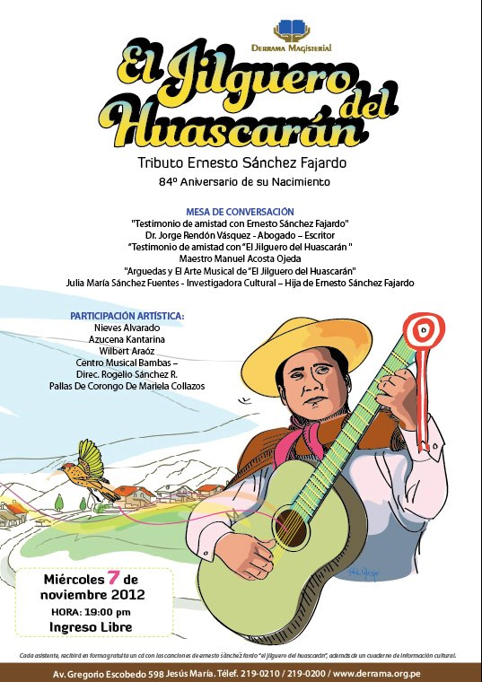 Jilguero del Huascarán