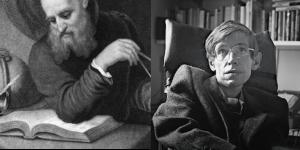 Galileo y Hawking