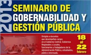 Seminario de Gobernabilidad