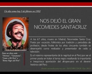 Nicomedes Santa Cruz