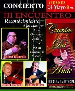 Encuentro Musical Cuerdas del Ande