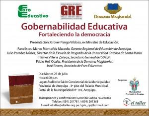 Gobernabilidad educativa