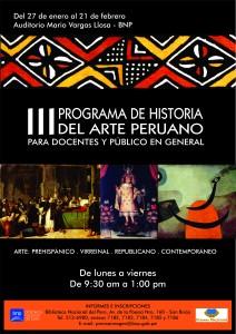Curso Programa de Historia del Arte Peruano