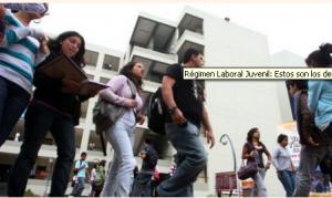 Nuevo Régimen Laboral Juvenil