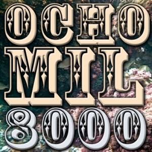 ocho mil suscriptores