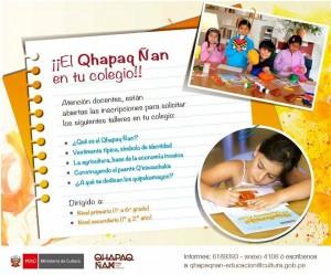 talleres Ministerio de Cultura Qhapaq Ñan