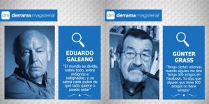 Eduardo Galeano y Günter Grass