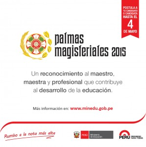 Palmas Magisteriales 2015