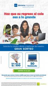 Campaña de Crédito Escolar que Derrama Magisterial