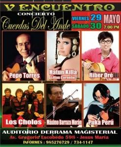 V Encuentro Musical Cuerdas del Ande 2015