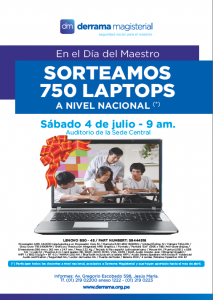 Sorteo Nacional de Laptops 2015