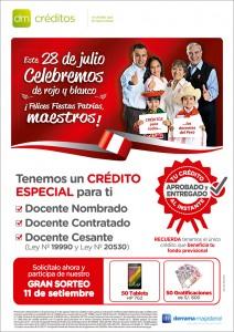 Campaña de Créditos por Fiestas Patrias 2015