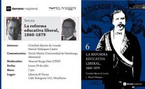 Tomo 6 de la CPEP - Colección Pensamiento Educativo Peruano
