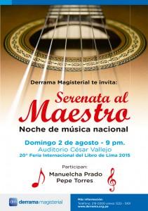 Manuelcha Prado y Pepe Torres - Serenata al Maestro