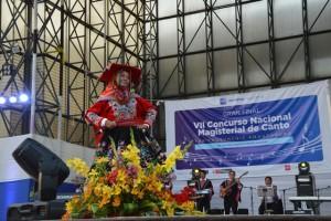 Maestros demostraron su talento en la Gran Final de nuestro VII Concurso Nacional Magisterial de Canto