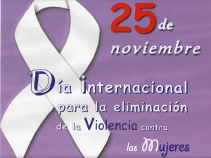 Día Internacional de la No Violencia contra la Mujer y las Niñas