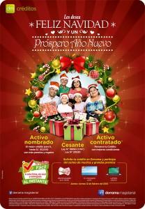 Campaña de Créditos 2015 por Navidad y Año Nuevo de Derrama Magisterial