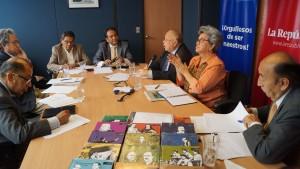 Conversatorio entre ex ministros y expertos acerca de nuestra Colección Pensamiento Educativo Peruano