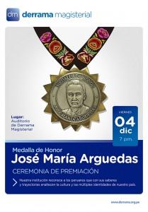 Medalla de Honor José María Arguedas