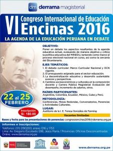 VI Congreso Internacional de Educación Encinas
