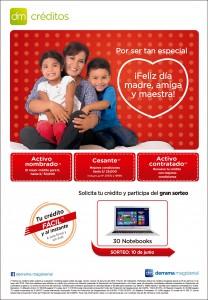 Campaña de Créditos por el Día de la Madre 2016