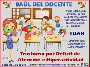 Trastorno por Déficit de Atención e Hiperactividad (TDAH)