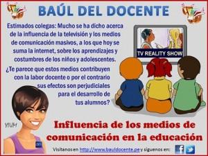 Educación y Medios de Comunicación: Un tema sobre el que debería hablarse más