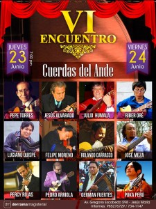 VI Encuentro Musical Cuerdas del Ande
