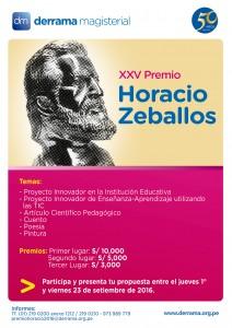 XXV Premio Horacio Zeballos Gámez 2016