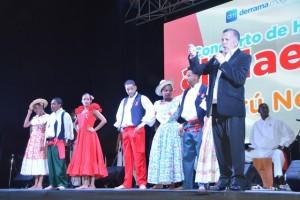 Perú Negro derrochó gracia y talento en homenaje al maestro y a Derrama Magisterial