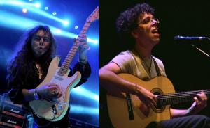 Yngwie Malmsteen y Pedro Guerra
