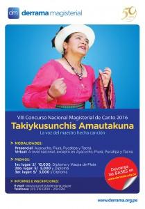 VIII Concurso de Canto Magisterial este sábado 24 en Ayacucho