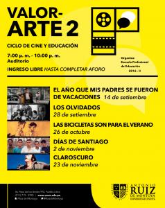 Festival de Cine para docentes en la Universidad Antonio Ruiz de Montoya