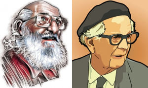 Paulo Freire y Jean Piaget