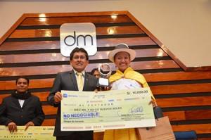 Profesora de Ayacucho fue la ganadora del VIII concurso nacional Magisterial de Canto