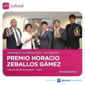 Entrega de los XXV Premios Horacio Zeballos Gámez 2016