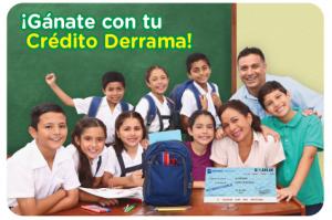 campaña Gánate con tu Crédito Derrama