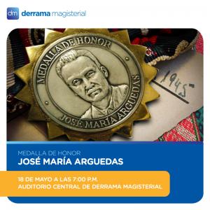 Medalla Arguedas 2017: Una noche especial