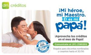 Nueva Campaña de Créditos en Derrama Magisterial: Día del Padre 2017