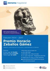 Conoce aquí las BASES de nuestros concursos Premio Horacio y Canto Magisterial