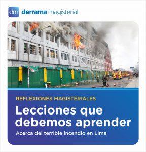 Incendio en Las Malvinas: Lecciones para aprender