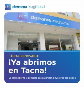 Inauguramos nuestra nueva y moderna oficina en Tacna