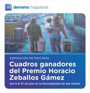 Exposición de cuadros ganadores del Premio Horacio Zeballos Gámez