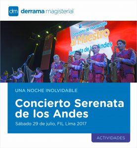 Concierto Serenata de los Andes