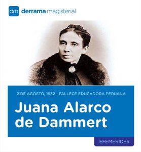 2 de agosto de 1932: Fallece educadora Juana Alarco de Dammert