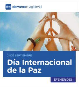 Día Internacional de la Paz: 21 de septiembre