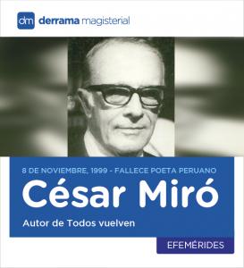César Miró Todos vuelven canción