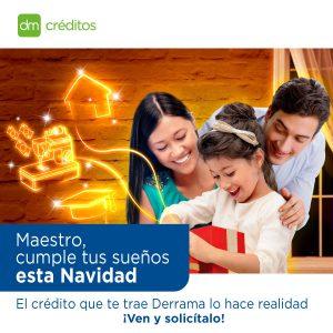 DM Créditos anuncia Campaña Navideña para todos nuestros asociados