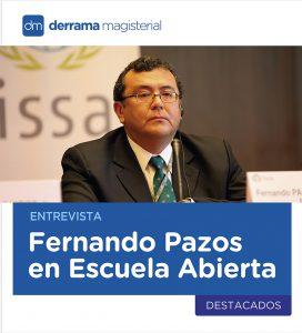 """Entrevista a Fernando Pazos: """"Este logro institucional es motivación para seguir mejorando"""""""