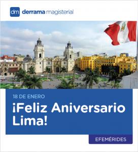 Reflexiones Magisteriales: Acerca de un nuevo Aniversario de Lima